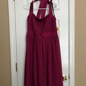 Formal halter dress. EUC. Worn once